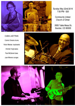 MAsterful Musicians, Victor Mestas in concert with Great Cuban Drummer