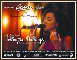 Wellington Bullings, a fabulous  Masterful Musician Specialty performer
