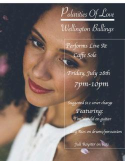 Masterful musicians, Wellington Bullings at Caffe Sole