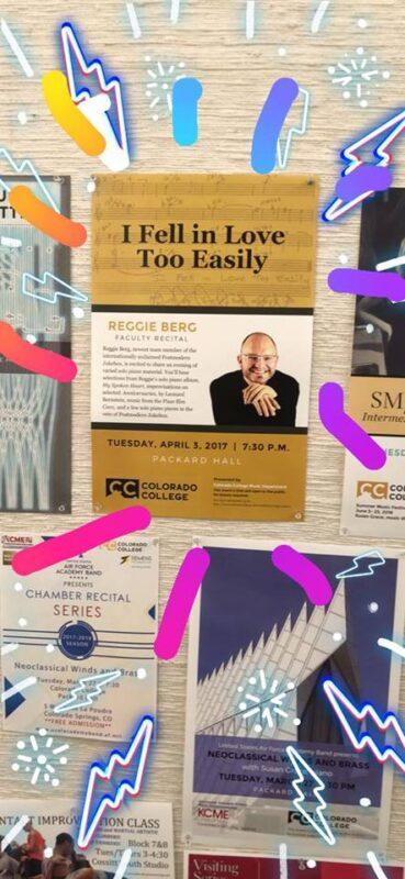 Masterful Musicians: Reggie Berg Facult Concert April3