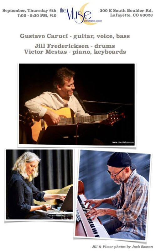 Gustavo Caruci with Masterful Musicians Victor Mestas